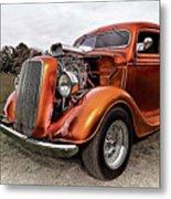 Vintage Ford Truck Rod Metal Print