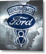 Vintage Ford V8  Metal Print