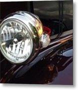 Vintage Headlight Metal Print