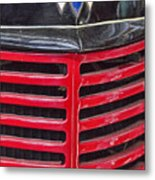 Vintage International Truck Metal Print