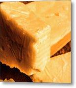 Vintage Italian Cheeses Metal Print