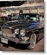 Vintage Jaguar Metal Print