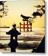 Vintage Japanese Art 23 Metal Print