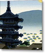 Vintage Japanese Art 9 Metal Print