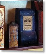 Vintage Kitchen Magick Metal Print