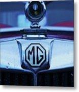 Vintage M G Emblem Metal Print