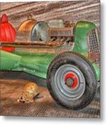 Vintage Midget Racer Metal Print