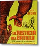 Vintage Movie Poster 1 Metal Print