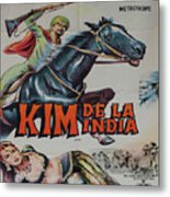 Vintage Movie Poster 4 Metal Print