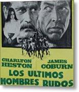Vintage Movie Poster 6 Metal Print