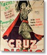 Vintage Movie Poster 7 Metal Print