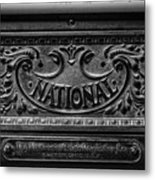 Vintage National Cash Register Metal Print