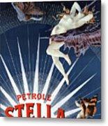 Vintage Petrole Stella Poster Metal Print