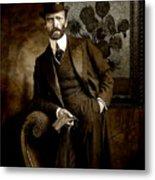 Vintage Photograph Of Vincent Van Gogh - Taken 13 Years After His Death Metal Print