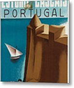 Vintage Portugal Travel Poster Metal Print