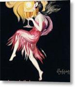 Vintage Poster Cognac Monnet, 1927 Metal Print