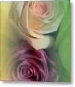 Vintage Roses 2 Metal Print