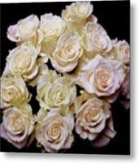 Vintage Roses Bouquet Metal Print