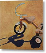 Vintage Tricycle Metal Print