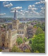 Vintage View Of The Cathedral Metal Print