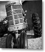 Vintage Workhorse - Farmall Metal Print
