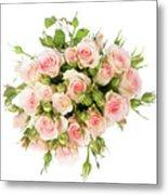 Bouquet Of Garden Roses Metal Print