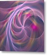 Violet Dreamy Feel Metal Print