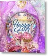 Violet Easter Metal Print