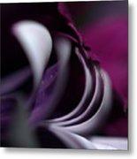 Violet Petals Metal Print