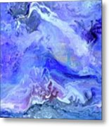 Violet Storm Metal Print