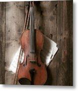 Violin Metal Print