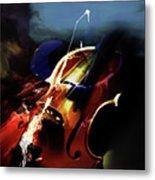 Violin Painting Art 321 Metal Print