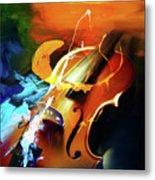 Violin Painting Art 51 Metal Print