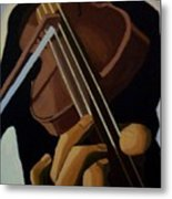 Violin Player Metal Print