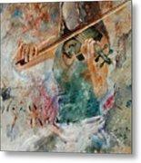 Violinist 56 Metal Print