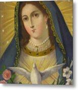 Virgen De La Paloma Metal Print