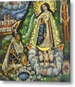 Virgen De Ocotlan Metal Print