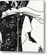 Virgilius The Sorcerer Metal Print