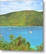 Virgin Island Getaway Metal Print