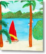 Virgin Island Memories Metal Print
