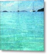 Virgin Islands Blues Metal Print