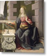 Virgin Mary, From The Annunciation Metal Print