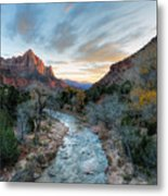 Virgin River And The Watchman Metal Print