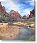 Virgin River Bend Metal Print