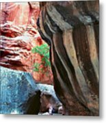 Virgin River Narrows Metal Print