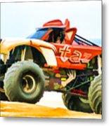 Virginia Beach Monster Truck Rally Metal Print