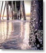 Virginia Beach Pier 2 Metal Print