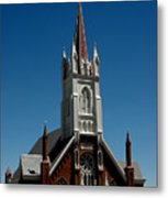Virginia City Church St Mary Metal Print