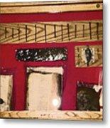 Virginia Dale - Burn Relics In Red Metal Print