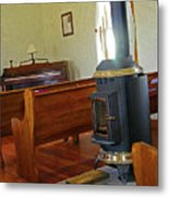Virginia Dale - Church Interior Metal Print